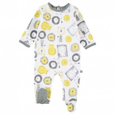 Pijama pelele bebé manga...