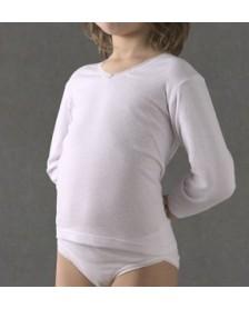 Camiseta Termal M/L RAPIFE niña 6 ud.