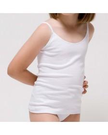 Camiseta RAPIFE tirantes niña 6 ud.