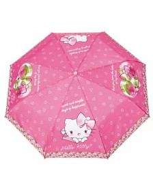 Paraguas antiviento plegable HELLO KITTY