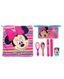Set Comedor MINNIE MOUSE ROSA