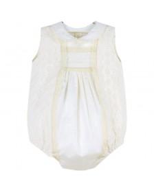 Ranita MARTIN ARANDA mussola tafeta bebé niño
